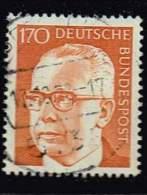 Bund 1972,  Michel #  731 O Heinemann III - BRD