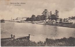 Top seltene AK,Berry-au-Bac,Steinbr�c he,Aisne,Feldpost,Stempel ,Frankreich,1.WK,1916