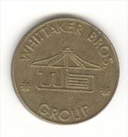Jeton Eurocoin London - Whittaker Bros London - Professionali/Di Società