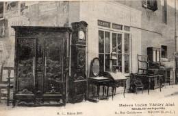 MACON 11 RUE GUICHERON MAISON LUCIEN TARDY AINE MEUBLES-ANTIQUITES - Macon