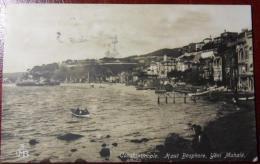TURCHIA 1922 COSTANTINOPLE HAUT BOSPHORE, Yéni-mahalé - Cartolina Animata - Photo - Viaggiata X ROMA  ITALIA - VEDI FOTO - Turchia