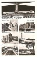 55 - Verdun - CPSM Multivues  : Douaumont, Tranchée Des Baïonnettes, Varennes, Montfaucon, Romagne, Pont Chaussée - Verdun