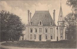 Top seltene AK,Schlo� Boult,Haute-Sa�ne,Feldpos t,Stempel,Frankreich,1.WK ,1915
