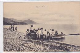 Cpa-mart-depart De Pecheurs-animée- - Martinique