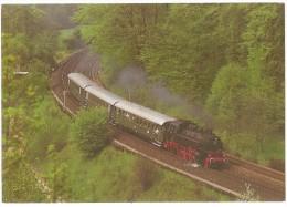 TRAIN Allemagne - EISENBAHN Deutschland - HARTMANNSHOF - Dampf-Tenderlokomotive 86 457 - Trains