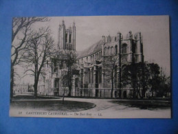 ROYAUME-UNI - CANTERBURY Cathedral , The East End - Canterbury