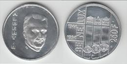 **** BELGIQUE - BELGIUM - BELGIE - 250 FRANCS 1994 BE NE LUX TREATY - ALBERT II - ARGENT **** EN ACHAT IMMEDIAT !!! - 07. 250 Francs