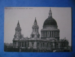 ROYAUME-UNI - LONDON St Paul´s Cathedral - St. Paul's Cathedral