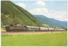 TRAIN Allemagne - EISENBAHN Deutschland - GUTACH - Nostalgie-Istambul-Orient -Express DB E94 179 - Trains