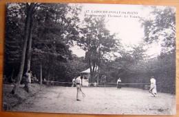 Cpa LA ROCHE POSAY 86 Etablissement Thermal - Le Tennis - La Roche Posay