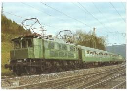 TRAIN Allemagne - EISENBAHN Deutschland - GEISLINGEN AN DER STEIGE - Elektro Schnellzuglokomotive 117 113-1 - Trains