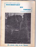 """Fascicule """" ROCHEFORT EN TERRE Les Grandes Dates De Son Histoire"""" Morbihan J Tendron & Photo Le GuevelEd 1967 Blasons - Bretagne"""