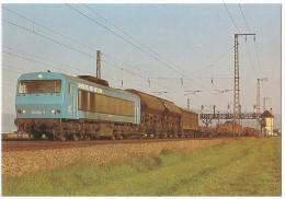 TRAIN Allemagne - EISENBAHN Deutschland - EDINGEN - Diesel-Streckenlokomotive 202 004-8 Henschel BBC - DE 2500 - Trains