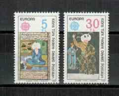 Türkisch-Zypern / Turkish Republic Of Northern Cyprus / Chypre Turc 1980 Satz/set EUROPA ** - Europa-CEPT
