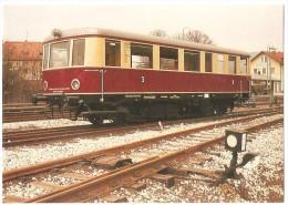 TRAIN Allemagne - EISENBAHN Deutschland - EBERMANNSTADT - DFS-Dieseltriebwagen VT 1 - Autorail - Trains