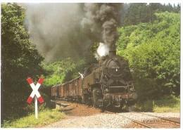 TRAIN Allemagne - EISENBAHN Deutschland - BREXBACHTAL (BROMBACHTAL ?) - Dampf-Tenderlokomotive 082 004-3 - Trains