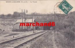 Val D Oise Boissy L Aillerie Le Tunnel éditeur Houllier  Voie Ferré Chemin De Fer - Boissy-l'Aillerie