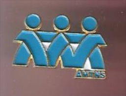 39417-pin's .A.M.T.N.S . Caisse Nationale D'assurance Maladie. - Administrations