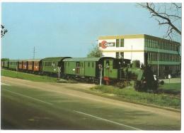 TRAIN Allemagne - EISENBAHN Deutschland - BINZEN - Lokomotive N° 30 EUROVAPOR - Glatt - Trains