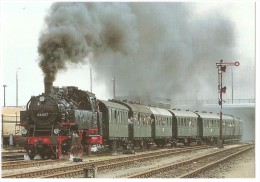 TRAIN Allemagne - EISENBAHN Deutschland - BERLIN - Personenzug Tenderlokomotive 64 007 - Trains