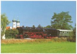 TRAIN Allemagne - EISENBAHN Deutschland - BENEDIKTBEUERN - Dampf-Güterzuglokomotive 44 1093 - Trains