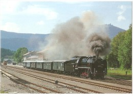 TRAIN Allemagne - EISENBAHN Deutchland - BAYERISCH EISENSTEIN - Dampf-Güterzuglokomotive 534.0432 - Trains