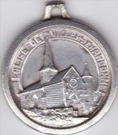 Médaille ;Eglise De Villers En Argonne (51) Juin 1940 ,Innauguration 21 Mai 1967 - Touristiques