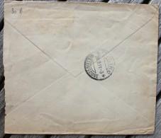 Enveloppe Pour Torino Affranchie Levant Italien 1 Piastre Costantinopoli 1 - Uffici D'Europa E D'Asia