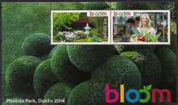"2013 Irland  Mi. Bl 93  **MNH     Gartenfestival ""Bloom 2014"", Dublin - 1949-... Repubblica D'Irlanda"