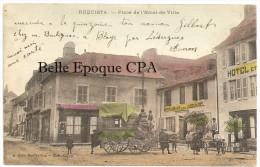 12 - RÉQUISTA - Place De L´Hôtel-de-Ville / DILIGENCE +++++ A. Rols, Montpellier - Édit. Calvet +++++ 1910 - France