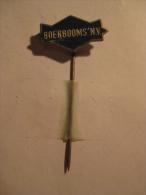 Pin Boerbooms NV (GA01531) - Markennamen