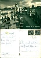 3152) CARTOLINA DI CATANIA -ADRANO-PIAZZA UMBERTO I E  SANTUARIO  M.SS. UILIATRICE -VIAGGATA