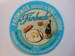 A-49106a -  Etiquette De Fromage FINBECK - MAULEVRIER - Maine Et Loire 49S - Fromage