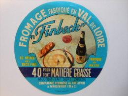 A-49106b -  Etiquette De Fromage FINBECK - MAULEVRIER - Maine Et Loire 49S - Fromage
