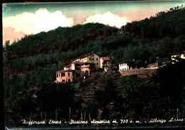 3569) CARTOLINA DI ZAFFERANA ETNEA- STAZIONE CLIMATICA ALBERGO AIRONE -VIAGGIATA
