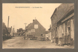 VOLCKERINCKHOVE LA GRANDE RUE ESTAMINET DE LA MAIRIE - Autres Communes