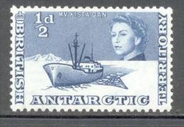British Antarctic Territory - BAT - 1963 - Michel Nr. 1 * - Britisches Antarktis-Territorium  (BAT)