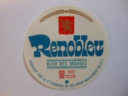A-49109 -  Etiquette De Fromage RENOBLEU - MAULEVRIER - Maine Et Loire 49S - Fromage
