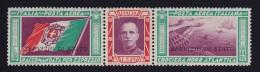"""ITALIA - REGNO 1933 - SA N.1a  TRITTICO  """"SERVIZIO STATO"""" - NUOVO G. I.  MNH** - FILIGRANA LETTERE - TRE CERTIFICATI"""