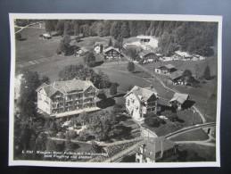 AK WENGEN (BE) Hotel Falken Schwimmbad Ca.1940  // D*14490 - BE Berne