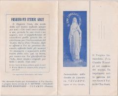 Santino Del Beato Claudio Granzotto (Santa Lucia Di Piave, Treviso 1900 - Chiampo, Vicenza 1947) - Santini