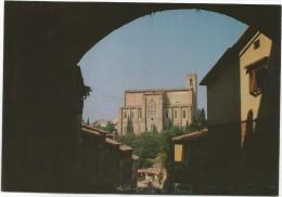 K1618 Siena - Basilica di San Domenico - Panorama / viaggiata 1984