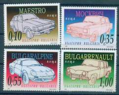 BULGARIA 2006 TRANSPORT Oldsmobiles Made In BULGARIA - Fine Set MNH - Neufs