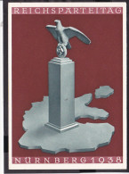 Postkarte Nürnberg  Reichsparteitag 1938 - Deutschland