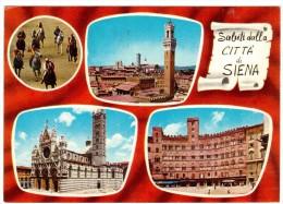 ZA684    SIENA - Saluti Dalla Città Di Siena - Siena