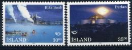 ISLANDE 1993 N° YVERT 737/738 LUXE ** - 1944-... Repubblica