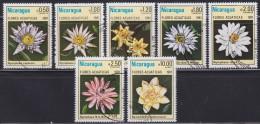 Nicaragua 1981 Flowers, Used (o) - Nicaragua