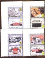 ST. VINCENT  3692-5 ; 4 X 2 ; IGPC # 1007 CO  MINT N H STAMPS ; FERRARI ; CARS - St.Vincent & Grenadines