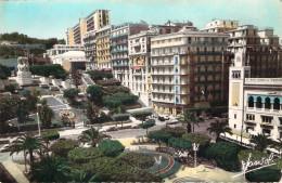 CPSM (format Cpa) Algérie Alger Le Boulevard Laferrière (animée) R841 - Algerien