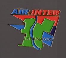 Pin's Compagnie Aérienne Air Inter - Site De La Barigoude à Toulouse - Animals